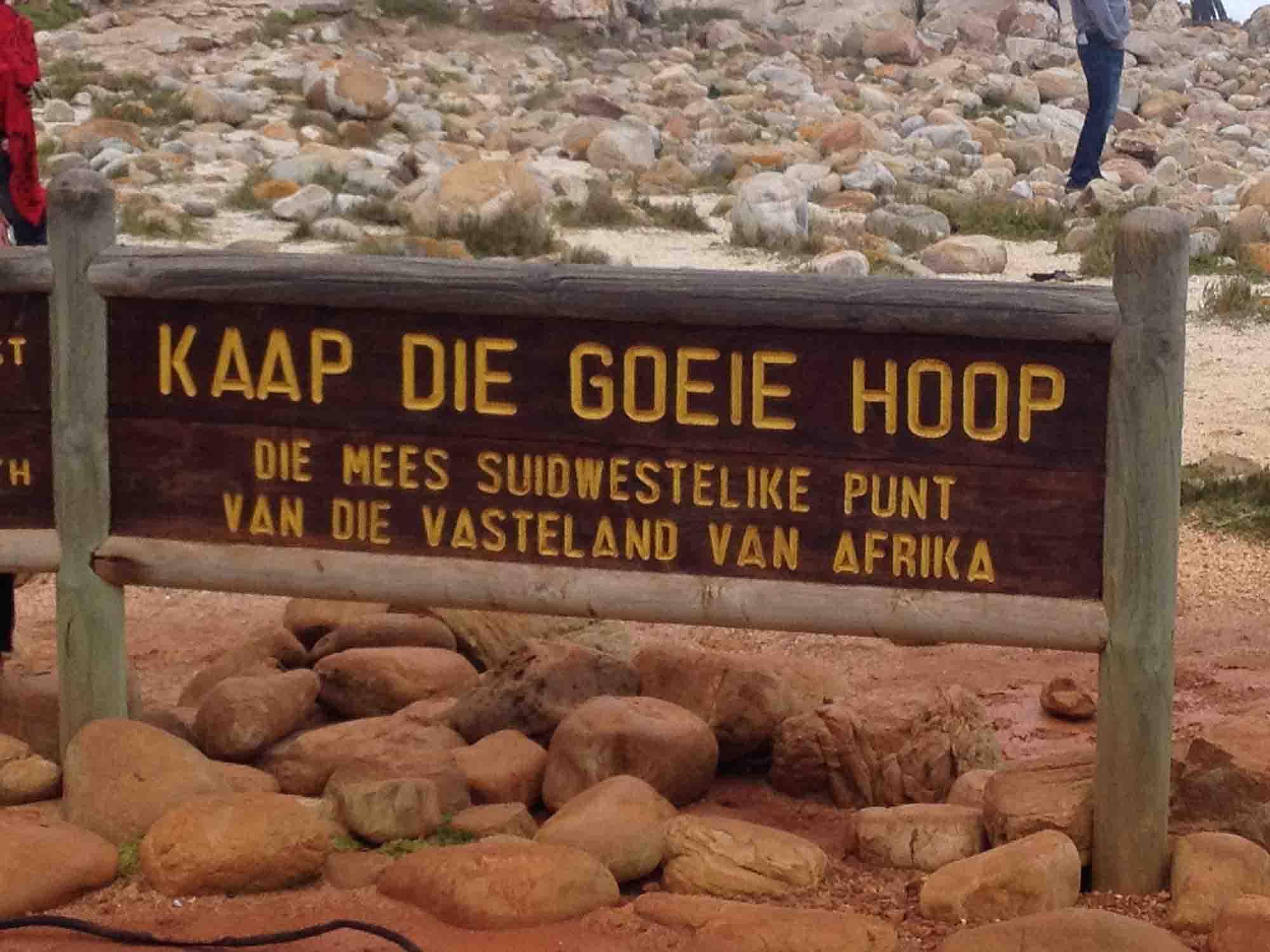 cartello afrikaans