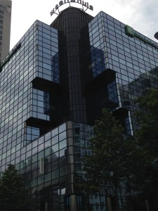 Lo skyline di Rotterdam è il suo tratto distintivo.