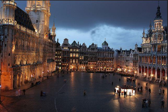 La Grand Place di Bruxelles.