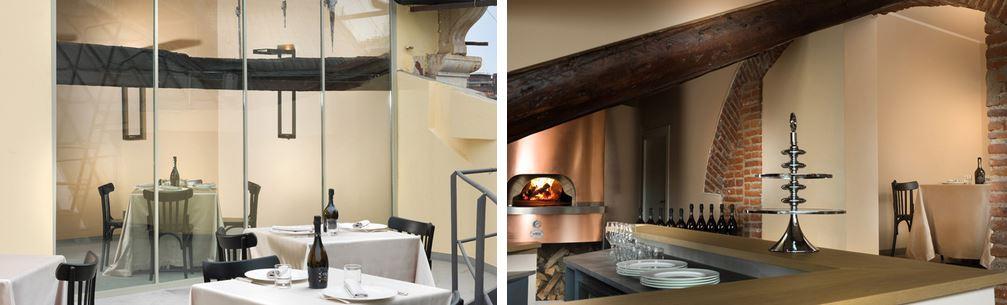 Per accedere alla pizzeria 12 Gatti si passa dai tetti del centro di Milano.