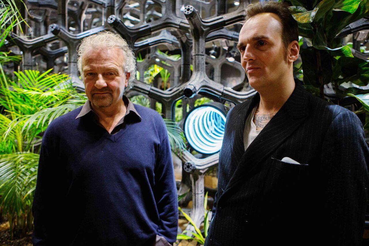Giovanni Veronesi e Giovanni Gastel foto Tony Hassler