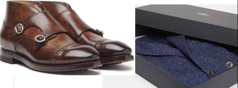 Eleventy homewear e scarpe
