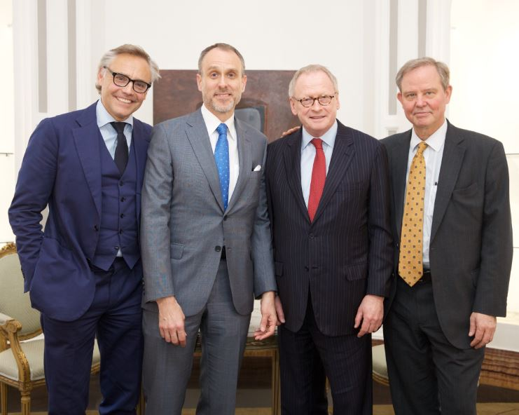 Luca de Ambrosis Ortigara DEA Real Estate, Janne Taalas ambasciatore Finlandia Cameron Sawyer Retail Developer Henry Lindelof Sindaco di Kotka