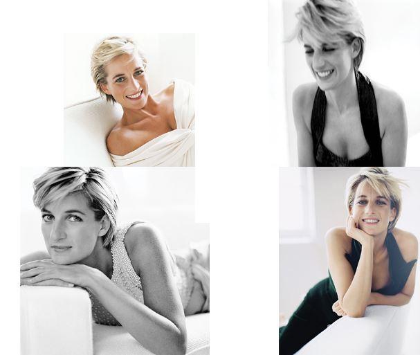 Diana Spencer fotografata da Mario Testino negli anni 90.
