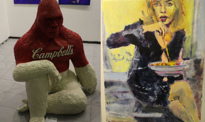 gorilla e madonna affordable art fair