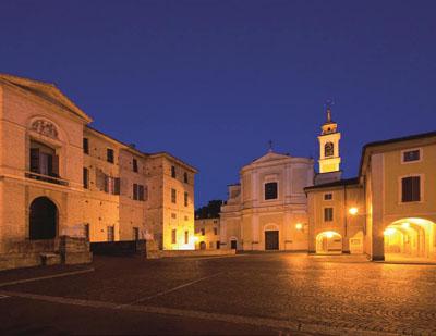 Soragna in provincia di Parma