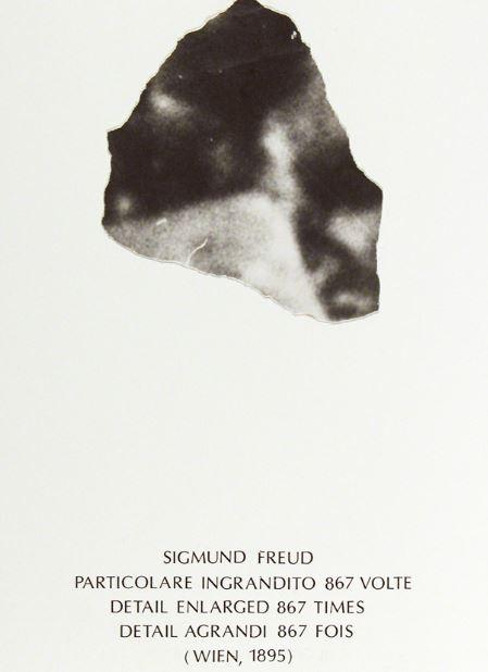Emilio Isgro_, Particolare per  Alfabeta, 1983, collage su cartone, 397 x 260 mm, Collezione Galleria civica di Modena