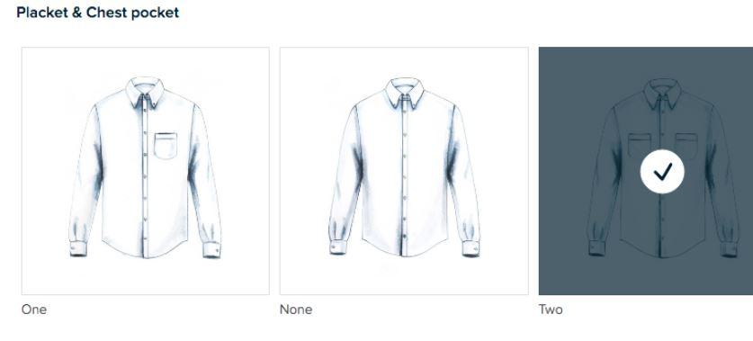 Tasca sulla giacca Brooks Brothers: un ventaglio di opzioni.