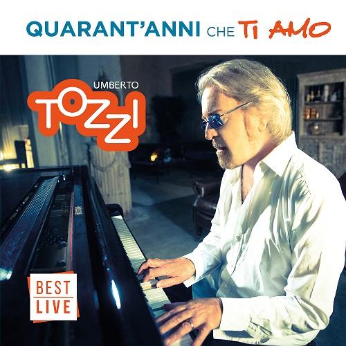 Quarant'anni che ti amo esce in doppio cd con booklet fotografico con i testi delle canzoni di Umberto Tozzi.