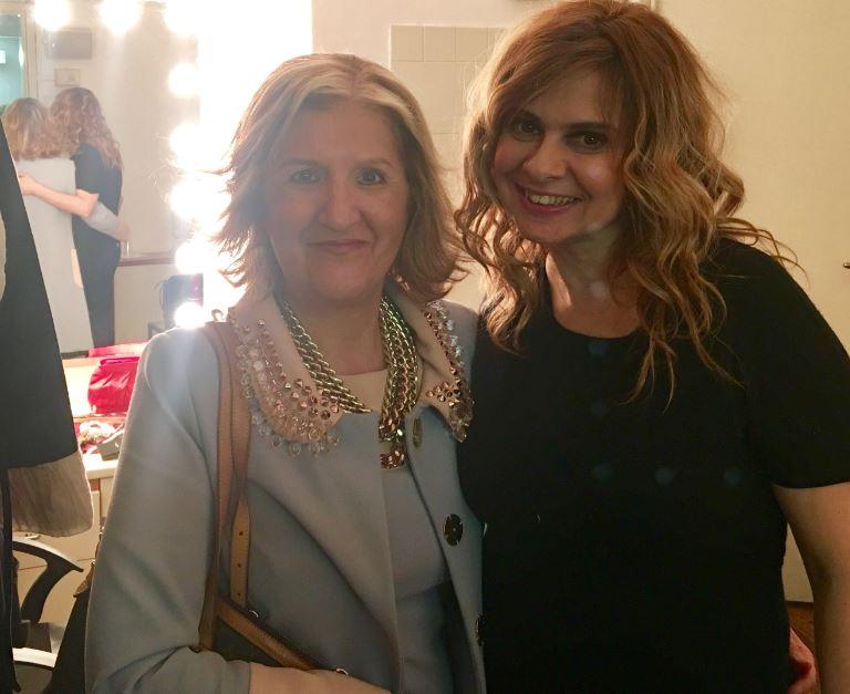 L'incontro tra Debora Caprioglio Cinzia Alibrandi per The Way Magazine.
