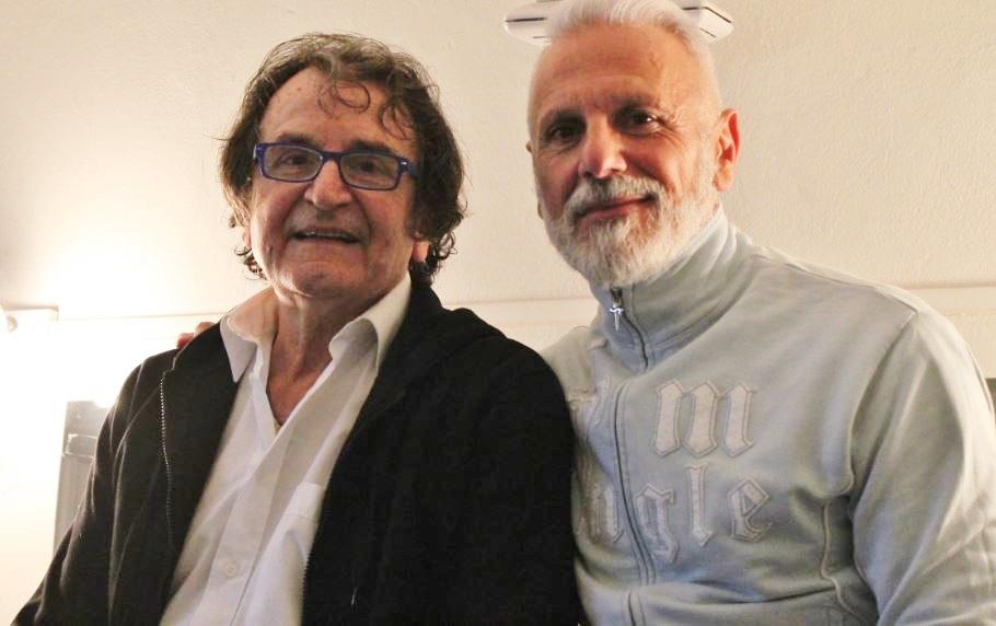 Riuniti eccezionalmente per il gala: Vittorio Biagi ( a sinistra) e Alessandro Urso (foto: The Way Magazine)