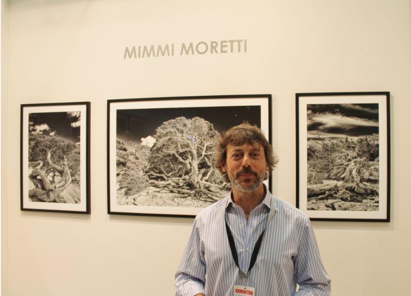 Mimmo Moretti in posa per The Way Magazine al MIA Photo Fair