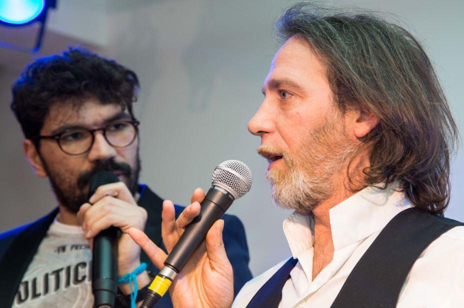 Riccardo Poli e Rafael (foto: Stefano Corrada)