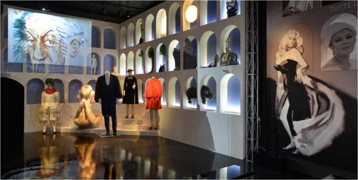 Un tributo a La Dolce Vita nella mostra sugli 80 anni di Cinecittà.
