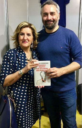 Cinzia Alibrandi durante l'incontro con Giulio Perrone per The Way Magazine.
