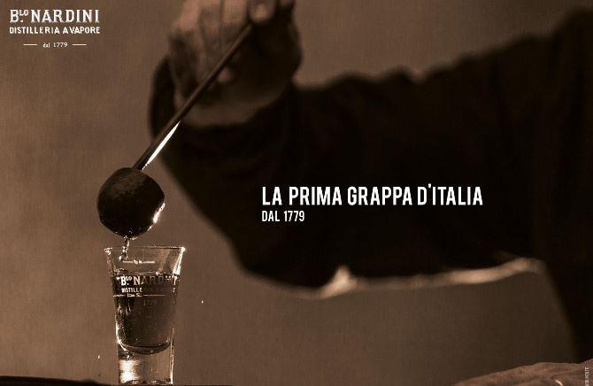 La distilleria Nardini, di antica tradizione italiana.