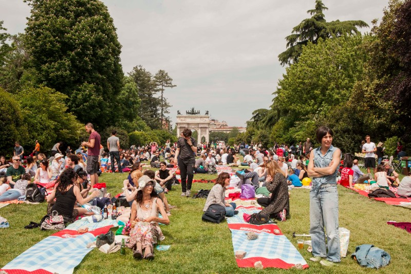 Il picnic dei record a Parco Sempione