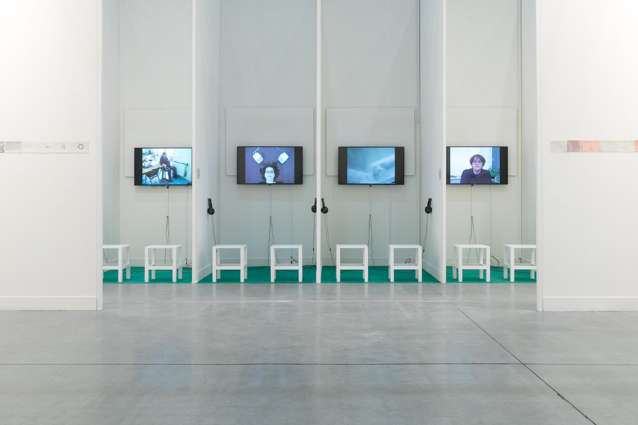 Lucy Harvey e il progetto della galleria londinese Anthony Reynolds.