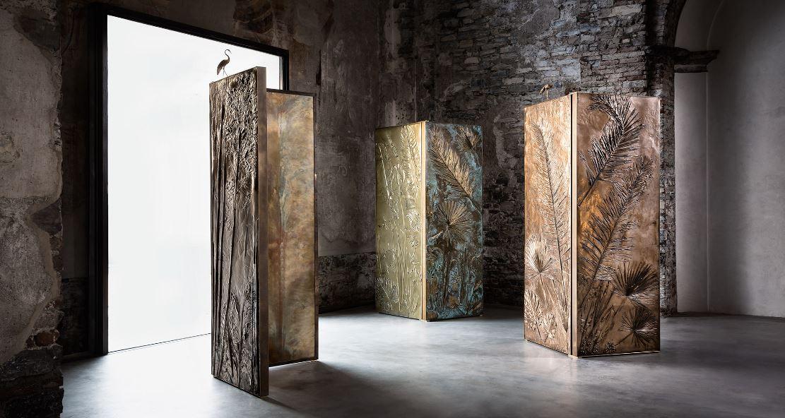 Le opere di Gianluca Pacchione: dal Fuorisalone di Milano a Collective Design di New York.
