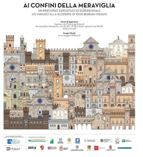 La mostra-evento alle Terme di Diocleaziano a Roma è visibile fino al 6 giugno. Un riassunto di quello che si annida nei borghi d'Italia.