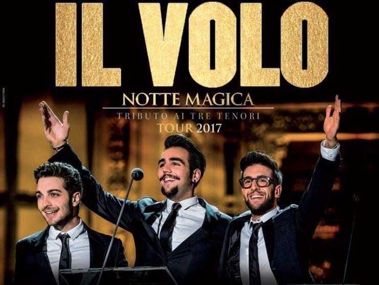 Il Volo porta in tour il disco Notte Magica, un omaggio ai tre tenori.