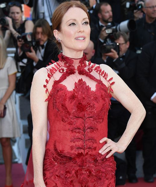 Julianne Moore in Chopard a Cannes 2017.