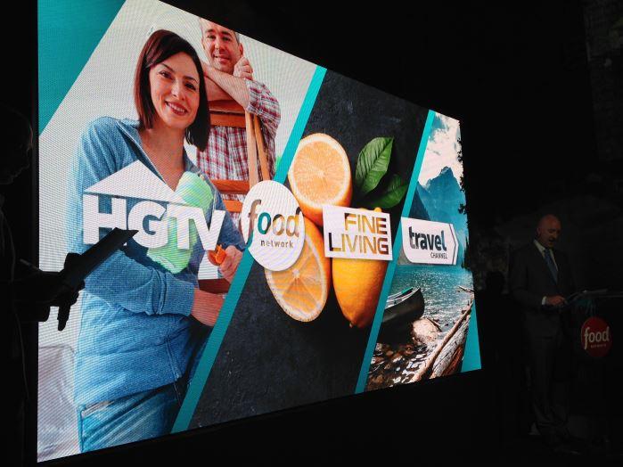 Philipp Luff al lancio italiano di Food Network illustra i canali tematici di Scripps Interactive.