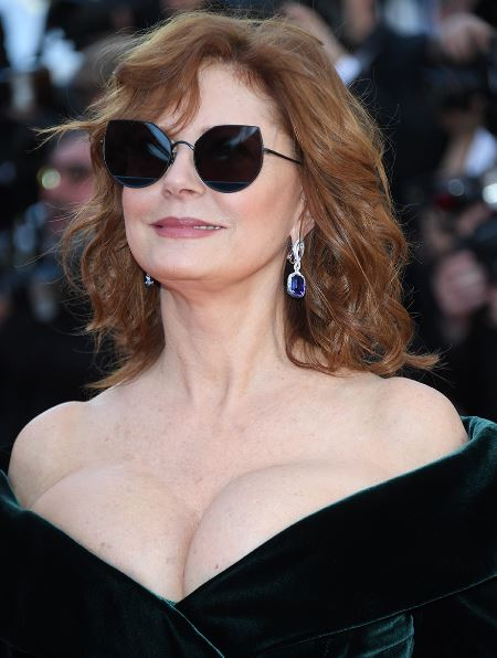 Susan Sarandon, world class evergreen al Festival di Cannes numero 70.