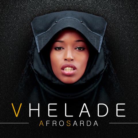 La copertina di AfroSarda, primo album di Vhelade in uscita ora.
