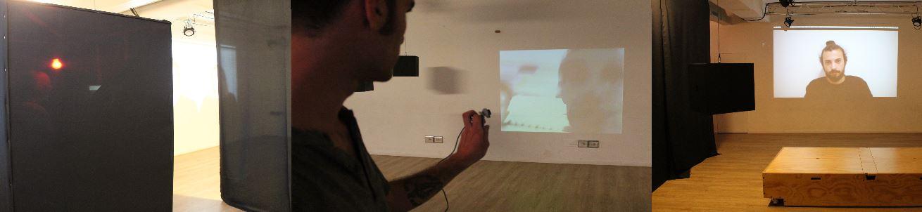 L'artista Lorenzo Picarazzi ci ha condotto all'interno della sua opera interattiva alla Rovereto House & Lab.