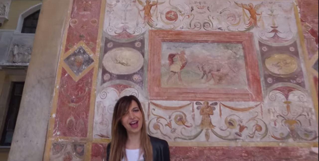 Il video di Fuori di Testa girato a Carrara.