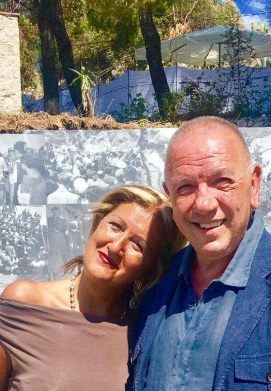 Antonio Presti durante l'intervista con la scrittora Cinzia Alibrandi per The Way Magazine.