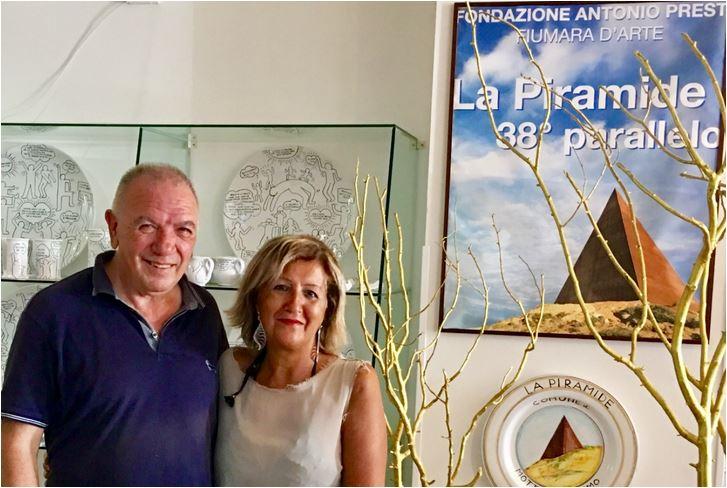 Cinzia Alibrandi ha incontrato il mecenate Antonio Presti in Sicilia per The Way Magazine.