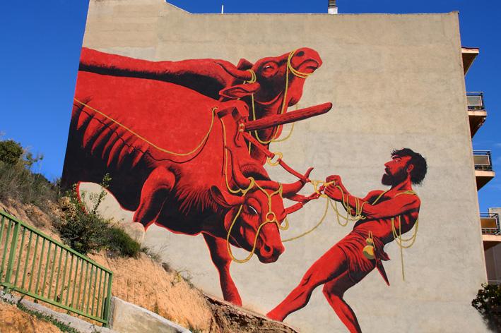 La street art di Zamoc.