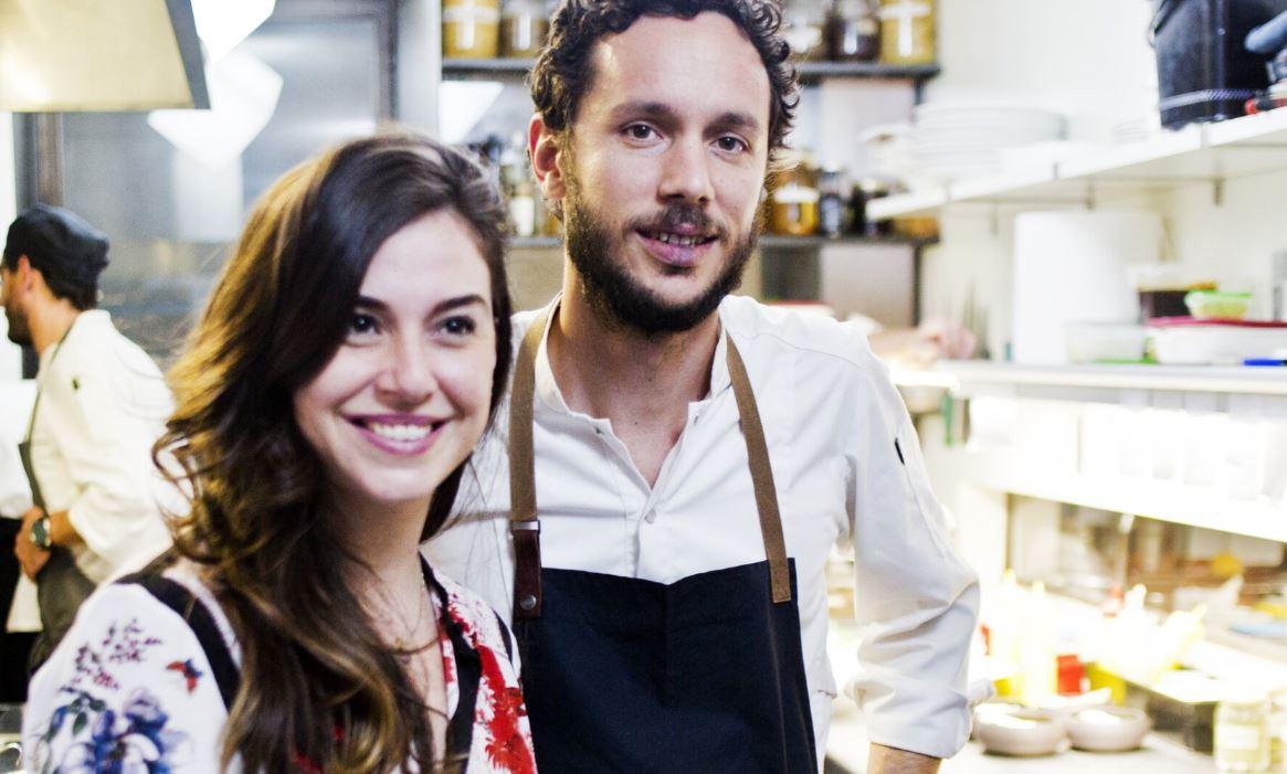 Paula Cademartori e chef Ambrosio