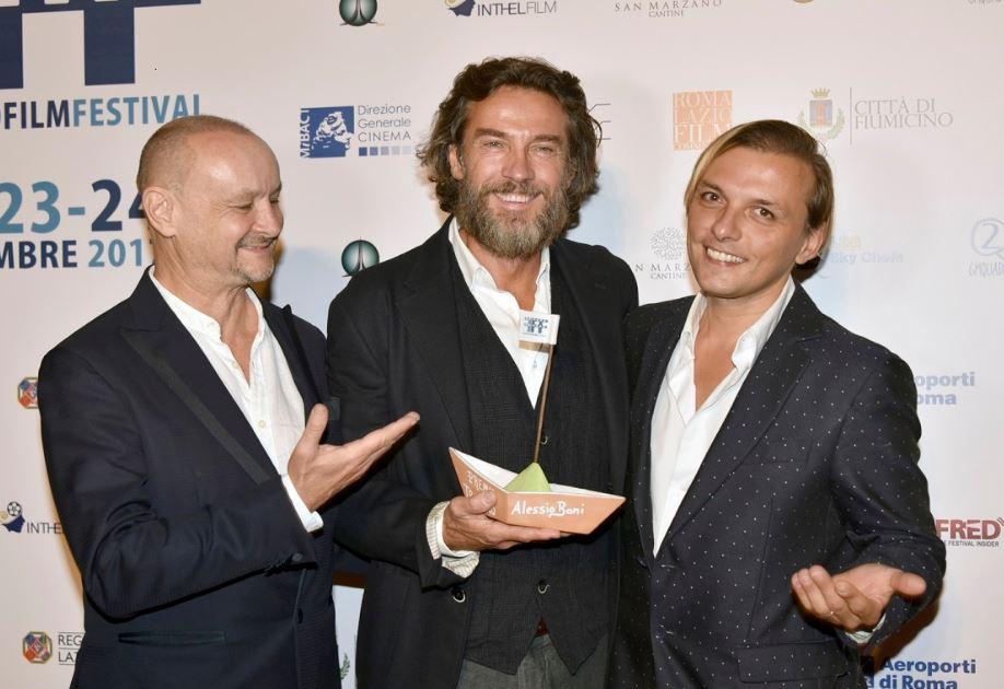 Alessio Boni al Fiumicino Film Festival tra