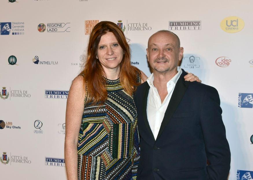 Susanna Nicchiarello con Marco SImon Puccioni.