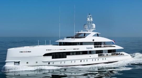 Home è stato certificato yacht rispettoso dell'ambiente.