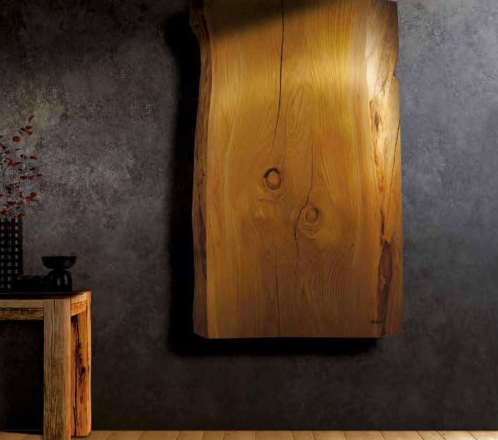 Xilo è una lastra di legno che riscalda con eleganza. L'ha inventata Hom.