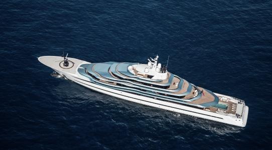 Il Jubilee è uno degli yacht più ammirati a Monaco in questi giorni.