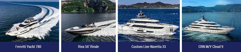 progressione ferretti yacht