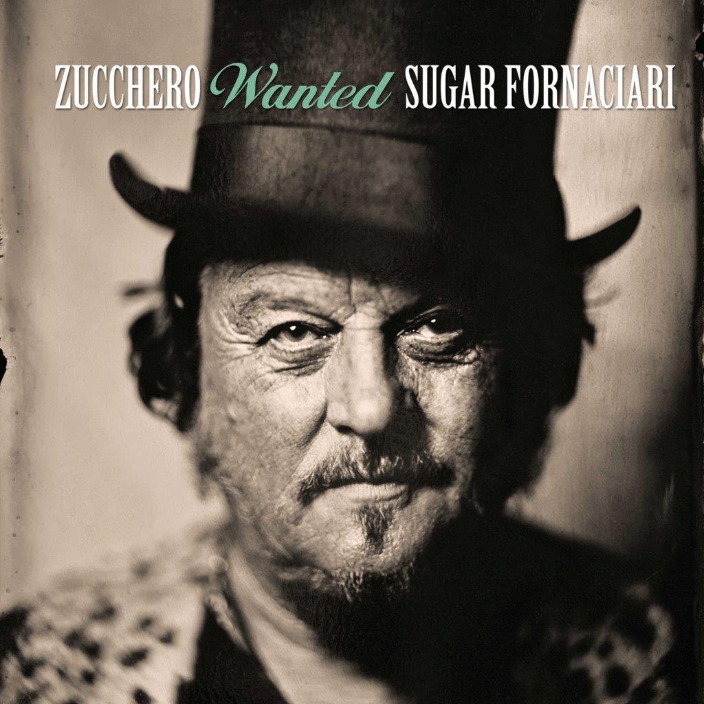 La copertina di Stefano Sappert per Zucchero, in uscita con la collection Wanted.