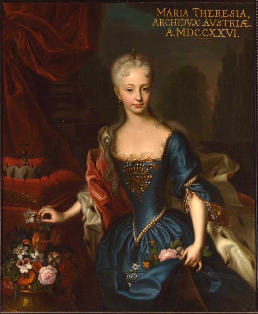 Austriaca a Trieste: ritratto di Maria Teresa d'Austria giovane