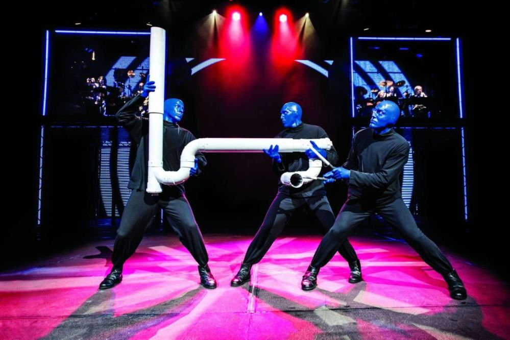 Blue Man Group per la prima volta a Milano e Trieste.