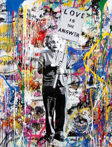 Mr. Brainwash, Einstein, 2017