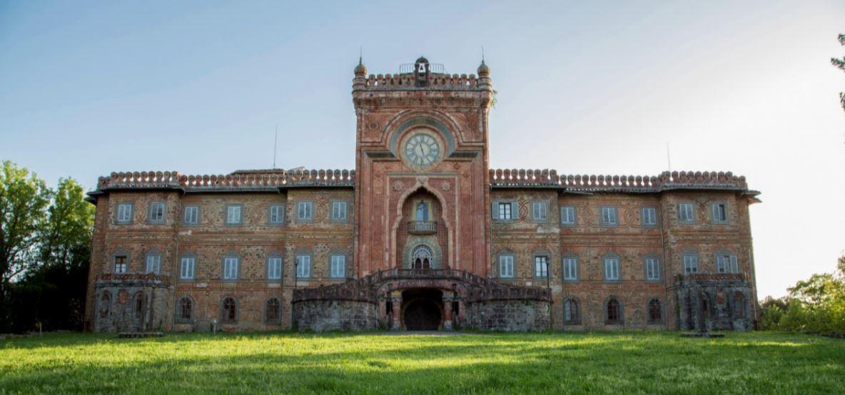 Una veduta esterna del Castello di Sammezzano (foto di Cristina Mantovani)