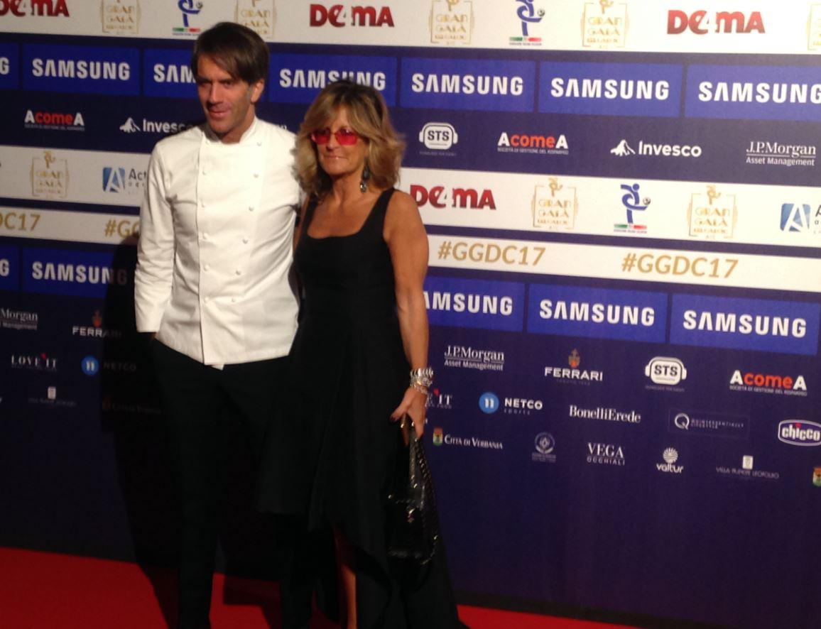 Chef Davide Oldani e signora (foto: The Way Magazine).