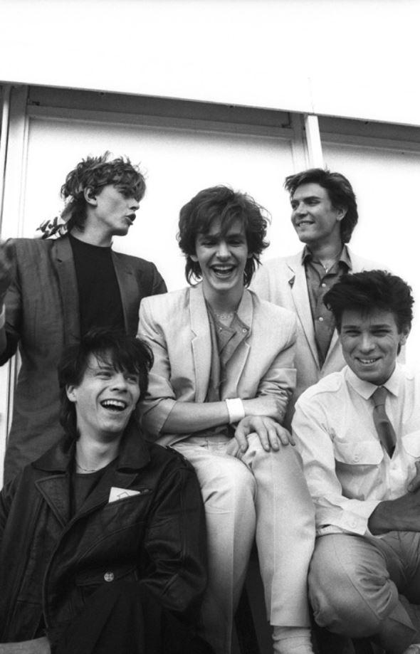 Justin Thomas ha rivelato in anteprima a The Way Magazine questo scatto del 1982 che sarà la copertina di Kings of the dark moon, il suo libro fotografico sui Duran Duran.