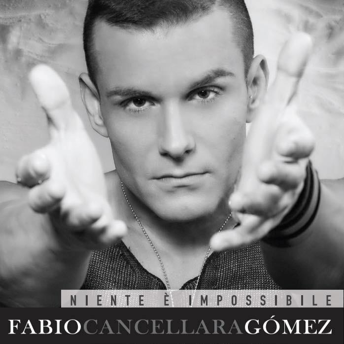 La copertina del disco di Fabio Cancellara GòMez, Niente è impossibile. Il cd contiene foto scatate da Francesco Dedola e Claudio Valsecchi.