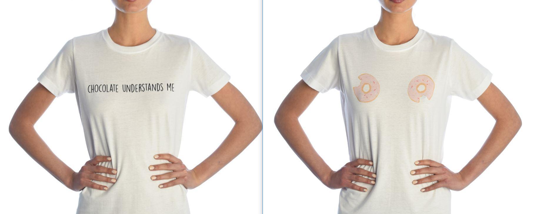 Glimmed è diventato famoso anche per le scritte sulle t-shirt.